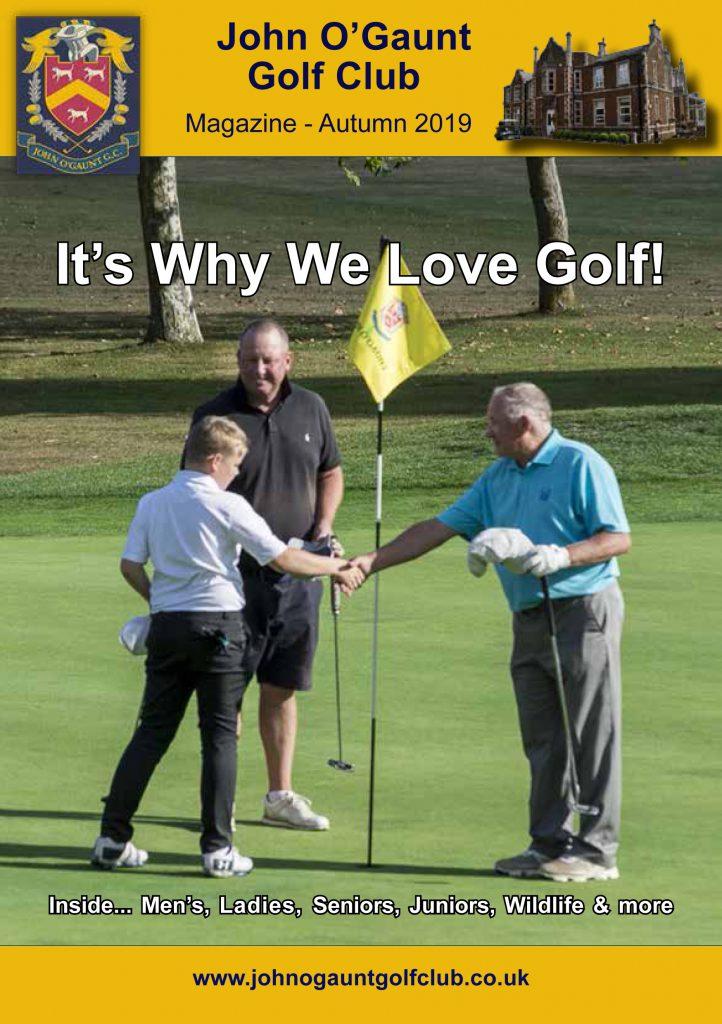 John OGaunt Golf Club - Autumn 2019